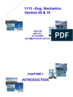 Engineering Mechanic - Chapter 1