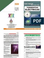 Diptico Tormentas Electricas