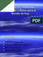 Agricultura y Nutrición. Vínculos y Retos Para El Mundo de Hoy. James Garrett.