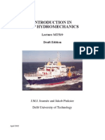 INTRODUCTION IN SHIP HYDROMECHANICS