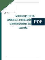 Estudio de los efectos ambientales y socioeconómicos de la modernización de regadíos en España