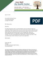 clinic letterhead 2014