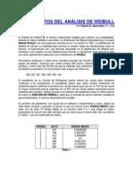 Fundamentos analisis Weibull y aplicación.pdf