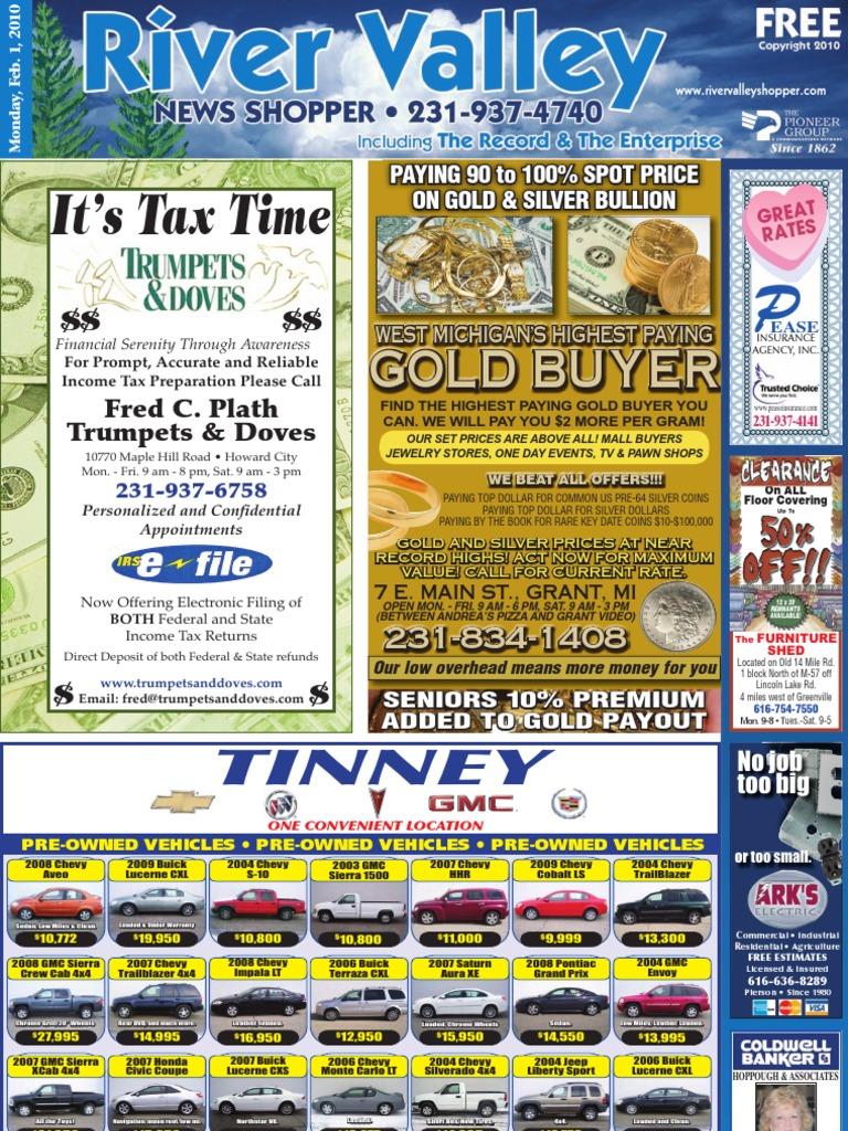Pioneer east news shopper february 1 2010 chevrolet silverado pickup truck