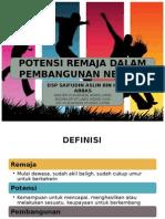 PRB potensi remaja