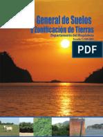 Estudios de Suelos y Zonificación de Tierras-Departamento Del Magdalena