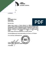 Decreto Ejecutivo -Entrega de colecciones biológicas