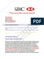 Bank Hsbc Ltd Atm Card Payment Notice