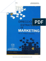 Notas Sobre Direccion Estrategica Marketing