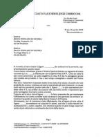 La lettera alla Bpvi