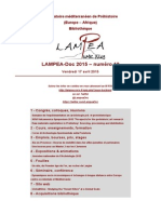 LAMPEA-Doc 2015 - numéro 12 / Vendredi 17 avril 2015