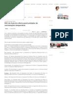 DEC Do Exército Oferta Oportunidades de Contratações Temporárias _ O POVO