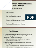 Service business essentials