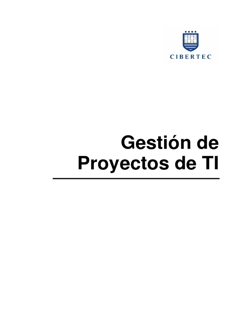 Manual 2013-II Gestion de Proyectos de TI