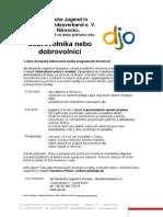 Evropska dobrovolna sluzba v djo-Deutsche Jugend in Europa v Nemecku