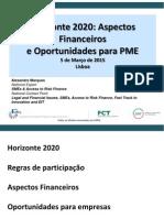 Apresentação H2020 LF_PME Alexandre Marques