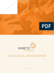 Kinetic Social Q1 2015 SOCIAL TRENDS REPORT