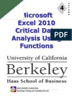 Excel 2010 - Module 4 - Data Analysis