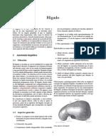 Descripción Anatomica del Higado