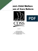 California's Child Welfare Continuum of Care Reform Report