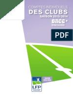 Les comptes individuels des clubs pour la saison 2013/14