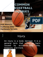 Common Basketball Injuries