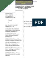 Lawsuit Complaint - Color of Law Civil Rights Violations