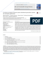 A Survey on Control of Electric Power Distributed Generation Systems for Microgrid Applications