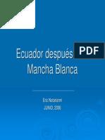 Ecuador Despues de La WSSV