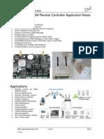 Quark-Elec GSM Remote Contorller Application Notes-G021