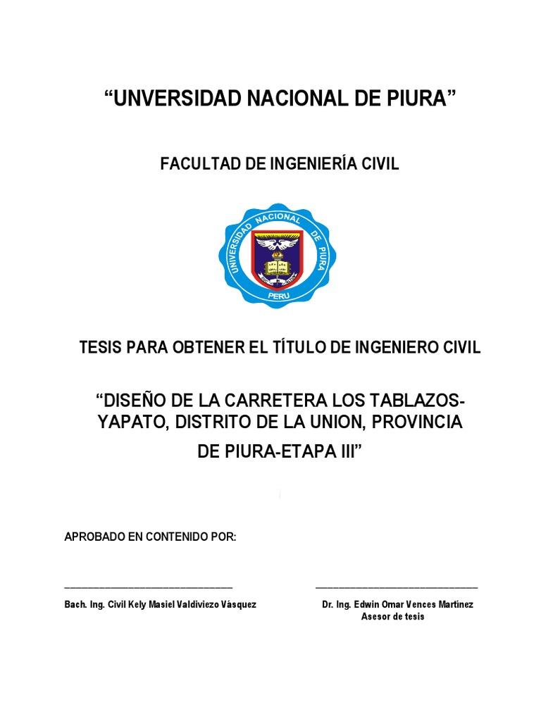 Distrito La Union Carretera Diseño Los De Tablazosyapato 5XU5w1q