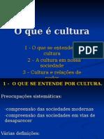 O Que é Cultura - O Que Se Entende Por Cultura