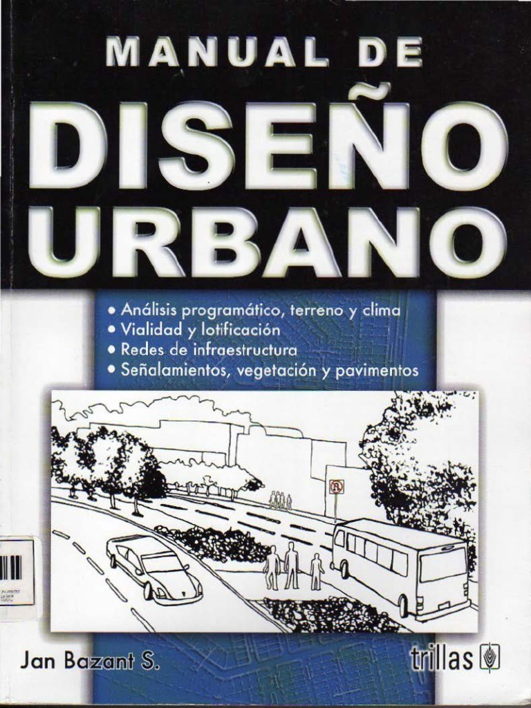 Jan bazant manual de dise o ubano for Manual de acuicultura pdf