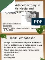 Jurnal Reading Adenoidektomi