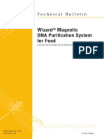 Wizard Magnetic Dna Purification System for Food Protocol