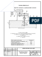 Mecanismul de Actionare a Malaxorului Vertical