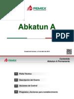 Abkatun Conf Prensa 150405