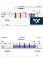 invoice Rumah Dinas Time Sheet