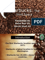 Starbucks - The Third Space