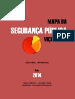 Mapa Da Segurança Pública Viçosa -- 2014