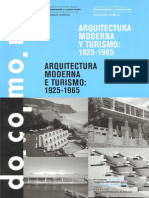 Turismo y Arquitectura Moderna Docomomo Iberico