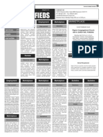 Claremont COURIER Classifieds 4-17-15