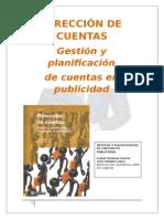 """Resumen del libro """"Dirección de Cuentas"""