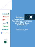 GHG Reductions Through Performance Contacting Under CPP