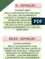 RELES+-+DEFINIÇÃO+E+CLASSIFICAÇÃO