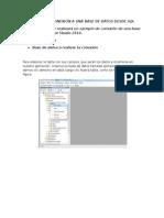 CONEXION Visual Studio 2010 y SQL Server 2008