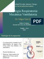 Fisiologia - Mecanica Ventilatoria y Curvas Espirometricas