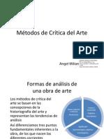 Métodos de Crítica Del Arte - Mimético y Expresivo