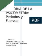 Historia de Psicometria