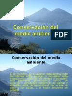 Conservación del medio ambiente